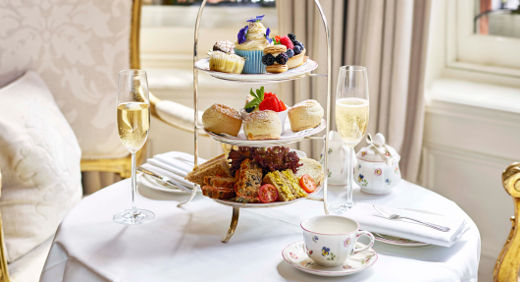 The Egerton House Hotel features all-vegan afternoon tea. © Egerton House Hotel