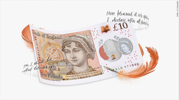 Great British Pound Banknote
