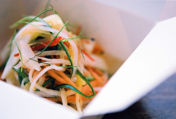 Pickled Papaya Salad © The Hug and Pint