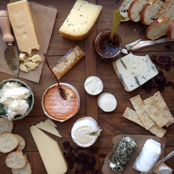 Delice & Sarrasin serves an assortment of vegan cheeses. Photo: Delice & Sarrasin