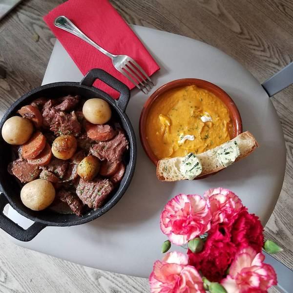 You can find delicious vegan French food at Delice & Sarrasin. Photo: Delice & Sarrasin/Facebook